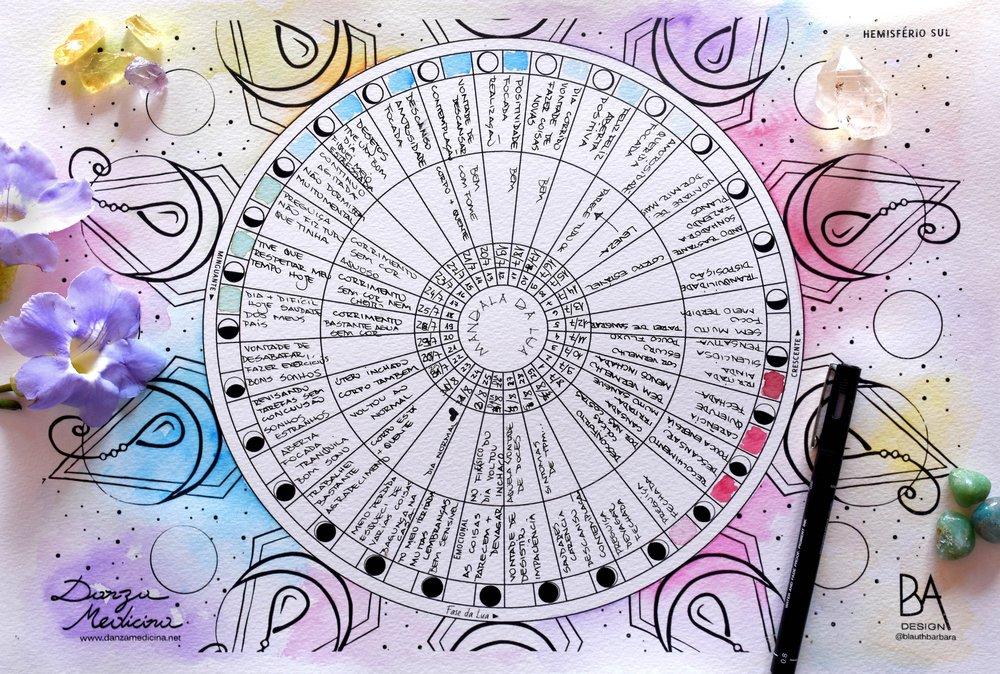 Mandala da Lua DanzaMedicina